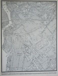 L@@K! Vintage 1940 Brooklyn Atlas Map NY New York City World War WWII Era Great!