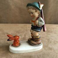 Vintage Hummel Sensitive Hunter Western Germany 6/0 TMK2 1950 full bee figurine