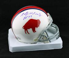 Ralph Wilson Jr. SIGNED Buffalo Bills Mini Helmet + HOF 09 PSA/DNA AUTOGRAPHED
