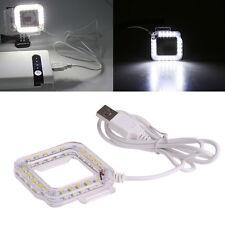 External USB Lens Ring LED Flash Light Shooting For GoPro Hero 3 3+ 4 Camera NEW