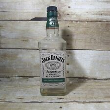 Jack Daniels Tennessee Straight Rye Whiskey Empty Bottle 750ml Man Cave Decor