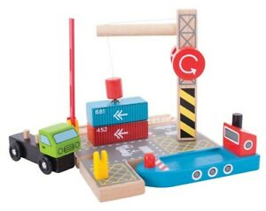 Big Jig Toys - Container Shipping Yard