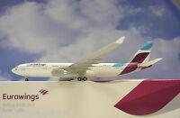 LIMOX Wings 1:200 Airbus A330-200 Eurowings d-axga EW03 + ailes de Herpa katalog