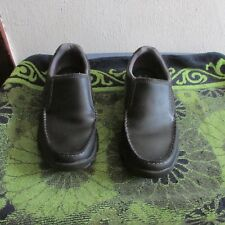 GREAT PAIR OF MEN'S SKETCHER LEATHER CASUAL SHOES/ SLIP-ONS SZ. 7 1/2. LOAFERS