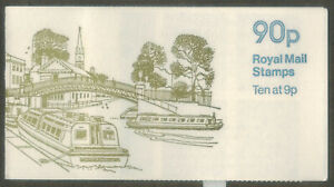 GB 1979 British Canals No5 Regents Canal Folded Stamp Booklet MNH