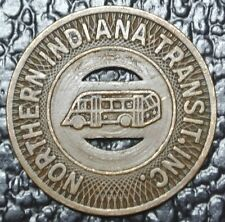 Northern Indiana Transit Inc. Token - Good For One Adult Fare - Nice