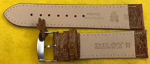 Real Truthahn-Leder Wrist Watch Band Trendy Braun Available IN 16 & 22MM