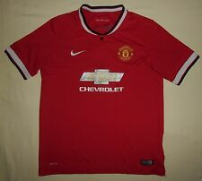 Manchester United / 2014-2015 Home - NIKE - JUNIOR Shirt / Jersey. 13-15 years