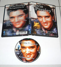 Dvd ELVIS PRESLEY The Legend Lives on A tribute to the King PERFETTO 2004