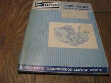 Used ATSG 1991 Ford AXOD-E Techtran Manual book