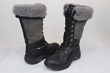 Ugg Australia Womens Adirondack Tall Black Color Winter Snow Boot Size 9 US