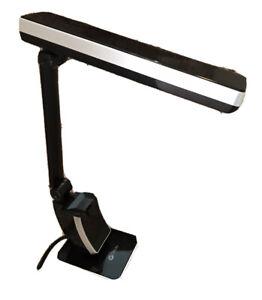 OTTLITE SlimLine Bedroom Office Task Lamp GX7825 Black 13W Desk Light