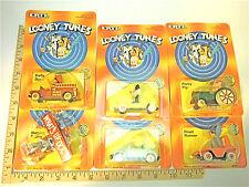 1989 Ertl Looney Tunes Sylvester Road Runner Tweety Bugs Bunny Porky Daffy Duck