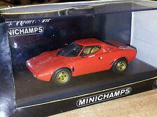 Minichamps Lancia Stratos rot 1:43 neu mit OVP