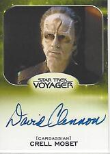 Star Trek 50th Anniversary Aliens Expansion David Clennon Autograph