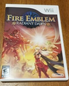 Fire Emblem: Radiant Dawn- Excellent Condition - CIB complete with all 3 inserts
