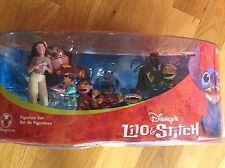 LILO & STITCH Disney Exclusive 7 Piece Figurine Set NEW IN ORIGINAL PACKAGING