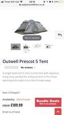 Prescott 5 Outwell Tent