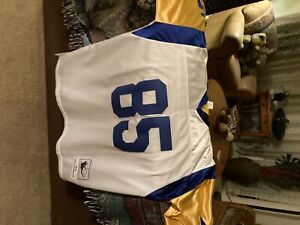 """Jack"" Youngblood Unsigned Custom White/Yellow Football Jersey Size - XL"