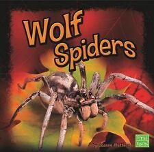Wolf Spiders (ExLib) by Joanne Mattern