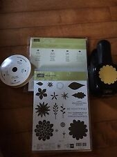 Stampin Up's Flower Patch Stamp Set