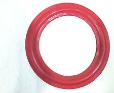 "(2) Two New 10"" Speaker Foam  Surrounds  (Cerwin Vega Red)."