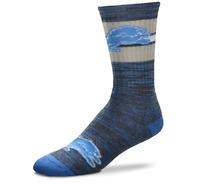 For Bare Feet Detroit Lions First String Crew Socks