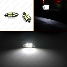 36mm White Canbus 6-SMD LED Festoon Bulbs C6W 6418 License Plate Light No Error