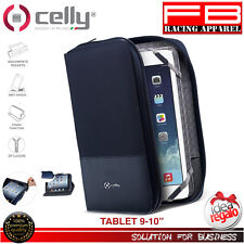 "Celly Custodia Organizer Universale per Tablet 9""/10"" Blu (i7f)"