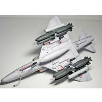 1/33 DIY 3D Card Model A-4 Skyhawk Fighter Plane Puzzle Game for Kids Gift