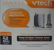 Vonage VTech IP 8100-1 Broadband Telephone System, Base & 1 Handset  -25