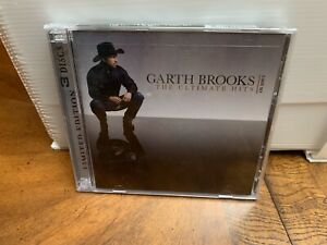 Garth Brooks The Ultimate Hits 3-Disc Set 2 DCs + 1 DVD Limited Edition Sealed