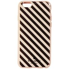 Kate Spade New York Flexible Hardshell Case for iPhone 6s 6 - Gold Stripes/Pink