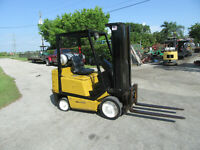 "Yale  GLC050 5000 LB Forklift Propane Side Shift  - Lift 188"" - 3 stage"