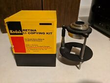 Kodak 1:1 Copying Kit For Retina Reflex / Orig Box / No accessories included