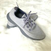 All Birds Women's Size 9 Wool Runners Natural Grey Blue Comfort Shoes