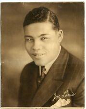 1930s Joe Louis Wittone premium (about 11 x 14)