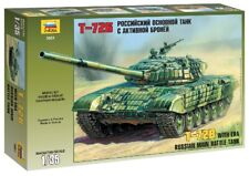 T-72M2 W/era Tank 1:35 Plastic Model Kit ZVEZDA