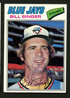Bill Singer #346 signed autograph auto 1977 Topps Baseball Trading Card