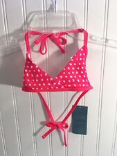 Old Navy Girls Coral Swim Suit Top Sz XS Cute w shorts or your own bottoms NWT