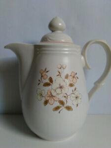 Vintage COUNTRY WARE Genuine Stoneware PEACHWOOD - Coffee Pot  - Japan