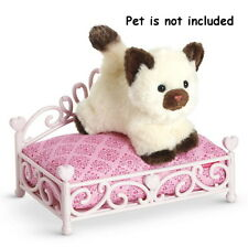 NIB AMERICAN GIRL Princess Pet Bed ~Pink Mattress Trundle For Doll's Pets NEW