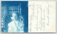 Denver CO~Aimee B Askling in Chicago~Library Books~Councilman Taylor~1906 RPPC