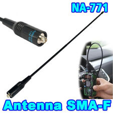 Doble banda SMA - F 144 MHz / 430MHz antena para Kenwood Baofeng uv5r bf-888s