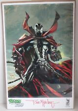 IMAGE SPAWN ROAD TO 300 FANEXPO CANADA ART PRINT SIGNED TODD MCFARLANE 11 x 17