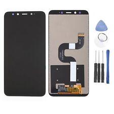 Für Xiaomi Mi 6X/Mi A2 LCD Display Touchscreen Bildschirm mit Werkzeug Schwarz