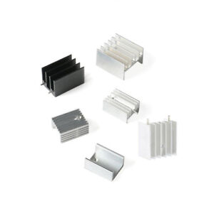 10pcs Heat sink TO-220 transistor radiator 25*24*16mm/20*15*10/21*15*10 aluminum