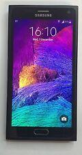 Samsung Galaxy Note 4 SM-N910 f-32gb Nero (Sbloccato) Smartphone raramente