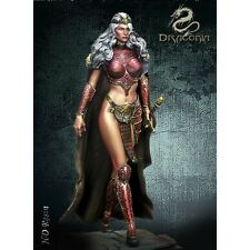75 mm  Crystal queen  1/24 resin model kit figure, free worldwide shipping
