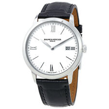 Baume et Mercier Classima White Dial Mens Watch 10323